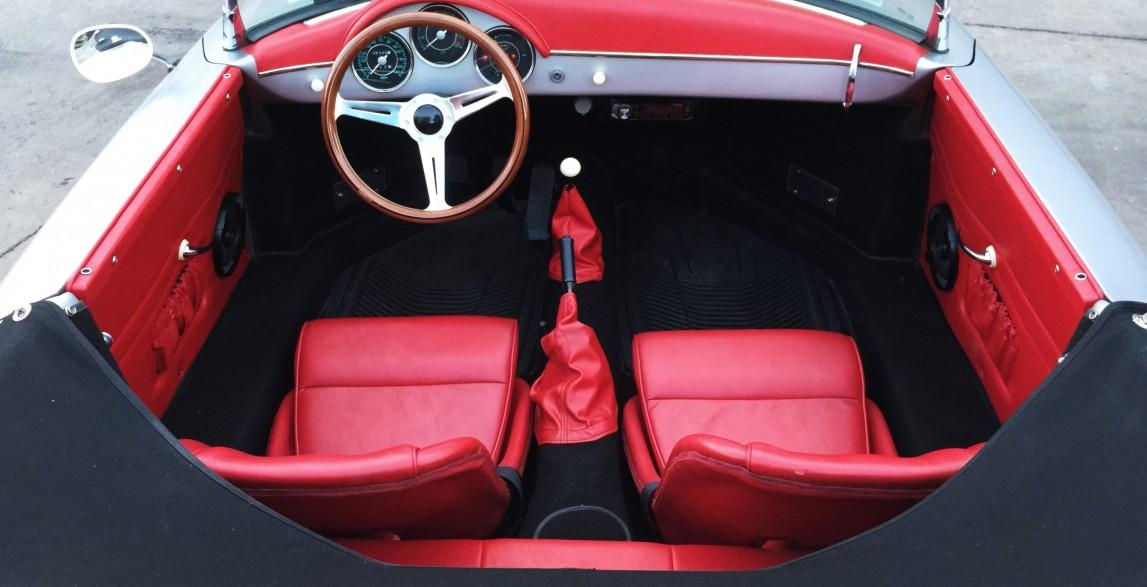 Hawaii Car Rental >> Mano: Arctic Blue 1957 Porsche 356 Speedster reproduction ...