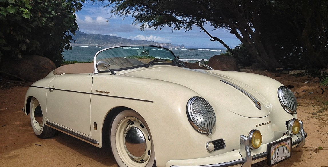 Lani Ivory 1957 Porsche 356 Speedster Reproduction Maui